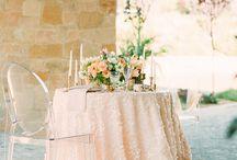 Sweetheart Table - Bride & Groom