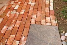 steinbelegning både hage og ute areal