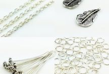 Fine Silver / Our Fine Silver made from 925 Sterling Silver from Thailand. Have more type, Chain, Head Pins, Charm Beads, Open Ring, Hook.That you have really fallen in love with Thai Sterling Silver and use it where ever you can in your designs.