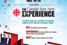Canada Lives Here Experience Open House / CBC Open House is from May 16-19 - it's free and open to the public for those living in Toronto.   Lots of things to do and see.  Here is your chance to meet your favourite CBC Stars!