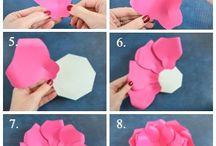 Duze kwiaty z papieru 3