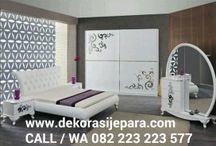 Kamar Tidur Modern / Jual Furniture Kamar Tidur Modern Desain Terbaru Bahan Kayu Mahoni & Jati by Produk Kamarjati.com