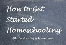 Homeschool: Getting Started (or starting over) / Homeschool, getting started, exploring options