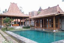 Jual Rumah Joglo + Kolam Renang di Yogyakarta
