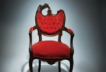 Sit me down... / We love chairs...new.... vintage.... reupholstered...