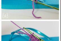 Háčkované sandále