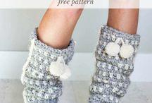 Pletené ponožky a iné