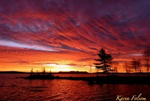 Beautiful sunrise, sunsets and moonlight / by Lena Long