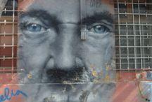 Urban Art, Santiago, Chile / Street art in Santiago, Chile. Urban Art Tour.