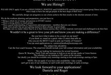 Hiring! / Job Postings.