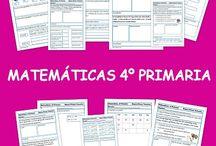 Matemáticas 2° ciclo primaria