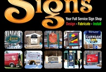 Southwoods Signs / Southwoods Signs can help you create the perfect look for your business to carry over to all your marketing needs.  Southwoods Signs Products: Vehicle Lettering, Partial Vehicle Wraps, Store Front Signage, Window Lettering, Vehicle Magnets, A-frames, Full Color Banners for Indoor and Outdoors, Real Estate Site Lot Signs, Backlit Signs, Roof Signs, Carved Signs, Nameplates, Bumper Stickers, Road Signs, Custom T-shirts, and more.