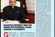 Dhruv Galgotia / Energetic and ultra-focused Dhruv Galgotia, CEO, Galgotias University and Galgotias Educational Institutions, one of India's private sector education pioneers