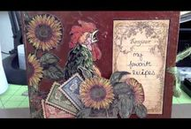 ALBUMS G45 FRENCH COUNTRY layouts cards etc