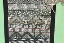 Year 8 African Geometric Work