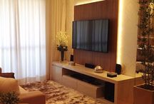 Salas pequenas / Painel de tv