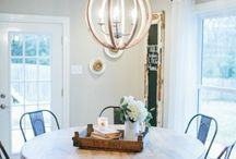 Turn the Lights On {Industrial Rustic Lighting Ideas} / by Kim Cole