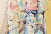 Lavanta kesesi ornekleri / cross stitch and felt lavender bags