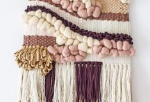 Woven Wall Hangings / tapestry weaving