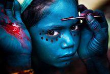 Faces/Rostros / Fotografía de Retrato/ Dibujo de Rostro/ Arte Facial