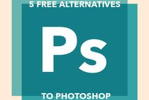 Tips and tutorials for Photoshop, Corel,...
