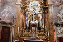 """Iglesia de San Antonio de los Alemanes de Madrid / Imágenes de la llamada """" Capilla Sixtina de Madrid """"."""