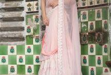 Lehenga sarees / http://www.ekru.in/category/indian-ethnic/lehanga-sarees
