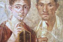 Roman and Pompeii artwork