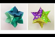 CRAFTS : PAPER  ORIGAMI / by Donna Baker