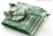 Money Origami / by Krystal Hirose-Janicki