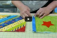 Quilt as you go tutorial.
