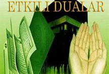 dert ve keder için dua