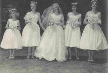 then and now (vintage wedding)