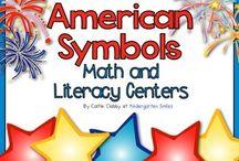 K Unit 4: American Symbols / by Lindsey Roberson