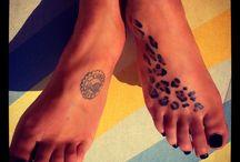 Леопардовые тату