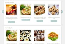Web for restaurant