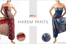 Harem Pants & Jumpsuits / Incredibly comfy and visually stunning Harem Pants & Jumpsuits from Aakriti Gallery.