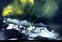 Abstract landscape - Rainier Boidin