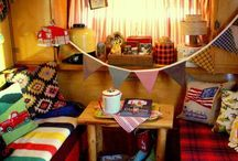 Cabin Themed Caravan / For Julie