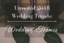 UNVEILED 2018 Wedding Trends