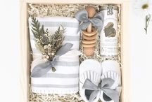 Baby shower gift box