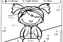Color By Code Resources / Fern Smith's Color Your Answers / Color By Code Printables at TeachersPayTeachers! #Paid and #Free http://www.teacherspayteachers.com/Store/Fern-Smiths-Classroom-Ideas / by Fern Smith