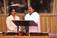 Amma at the United Nations / Amma, Mata Amritanandamayi Devi at the United Nations.