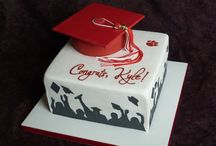 Diplomaosztós torták