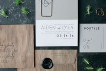 Wood Invitation