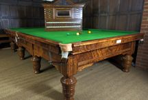 Antique / Antique billiards & snooker tables, lighting, accessories & paraphernalia - beautifully restored by the craftsmen at our workshops in Marten, England.