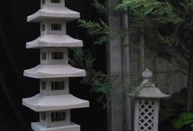 concret pagoda latern