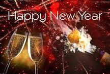 Happy New Year / A delightful welcome to the coming New Year! Food, Phamily, Fun! Come Join Us!