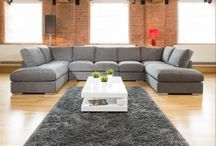 U Shaped Large Cinema Style Sofas Horseshoe