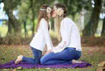 Mãe e filha!